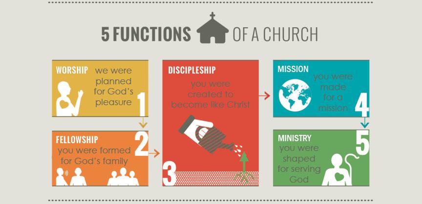 5 Purposes Infographic