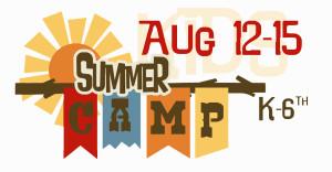 Kids Courage Camp Flyer Top